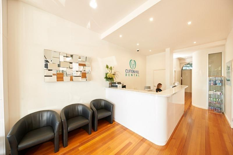 Clifton Hill Dental Reception